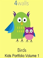Kids Portfolio Volume 1 Birds wallpaper