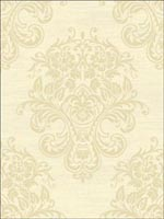 Bosch Damask Wallpaper BN51703 by Collins and Company Wallpaper for sale at Wallpapers To Go