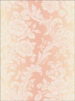 Damask Acanthus Leaves Wallpaper CA80903 by Seabrook Wallpaper for sale at Wallpapers To Go