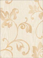 Leaf Scroll Woodgrain Wallpaper FS40403 by Seabrook Wallpaper for sale at Wallpapers To Go