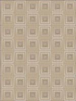 Geometric Wallpaper FS40808 by Seabrook Wallpaper for sale at Wallpapers To Go