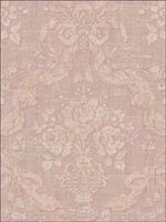Damask Floral Wallpaper DK70112 by Seabrook Wallpaper for sale at Wallpapers To Go