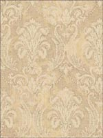 Damask Wallpaper FF51115 by Seabrook Wallpaper for sale at Wallpapers To Go