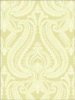 Imperial Green Modern Damask Wallpaper 253520623 by Beacon House Interiors Wallpaper for sale at Wallpapers To Go