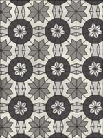 Marqueterie Grey Mosaic Geometric Wallpaper 341774 by Kenneth James Wallpaper for sale at Wallpapers To Go