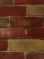 Brick Wallpaper BG21586 by Norwall Wallpaper for sale at Wallpapers To Go