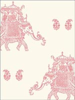 Ophelia Pink Elephant Wallpaper 1014001836 by A Street Prints Wallpaper for sale at Wallpapers To Go