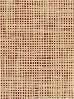 Paper Weave Red Beige Wallpaper 488426 by Patton Wallpaper for sale at Wallpapers To Go