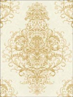 Damask Wallpaper  ON40005 by Collins and Company Wallpaper for sale at Wallpapers To Go