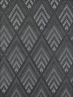 Jazz Age Geometric Charcoal Wallpaper LWP66999W by Ralph Lauren Wallpaper for sale at Wallpapers To Go