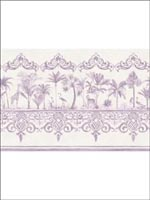 Rousseau Dove Border 9910043 by Cole and Son Wallpaper for sale at Wallpapers To Go