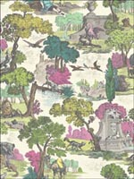 Versailles Grand Pink Wallpaper 9916064 by Cole and Son Wallpaper for sale at Wallpapers To Go