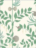 Secret Garden Dark Green Wallpaper 1039030 by Cole and Son Wallpaper for sale at Wallpapers To Go