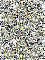 Rouen Dill Cobalt Upholstery Fabric 2015128530 by Lee Jofa Fabrics for sale at Wallpapers To Go
