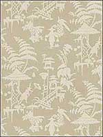 Indo Night Parchment Multipurpose Fabric INDONIGHT16 by Kravet Fabrics for sale at Wallpapers To Go