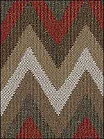 Artisan Chevron Sundried Red Upholstery Fabric 32348619 by Kravet Fabrics for sale at Wallpapers To Go