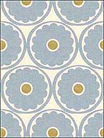Pop Flower Chambray Multipurpose Fabric POPFLOWER15 by Kravet Fabrics for sale at Wallpapers To Go