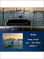 Venice 8 Panel Mural 871013 by Sancar Wallpaper for sale at Wallpapers To Go