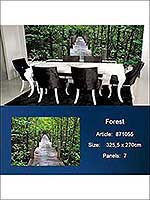 Forest 7 Panel Mural 871055 by Sancar Wallpaper for sale at Wallpapers To Go