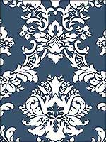 Satins Damask Wallpaper CS35600 by Norwall Wallpaper for sale at Wallpapers To Go