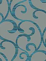 Dazzling Coil Wallpaper Y6200303 by York Designer Series Wallpaper for sale at Wallpapers To Go