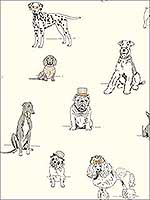 Dogs Life Wallpaper AF1938 by Ashford House Wallpaper for sale at Wallpapers To Go