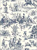 Seasons Toile Wallpaper AF2000 by Ashford House Wallpaper for sale at Wallpapers To Go