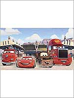Disney Cars Friends Finish 7 Panel Mural JL1303M by York Wallpaper for sale at Wallpapers To Go