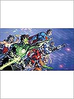 Justice League XL 7 Panel Mural JL1380M by York Wallpaper for sale at Wallpapers To Go