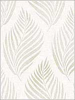 Patrice Beige Linen Leaf Wallpaper 270422684 by Brewster Wallpaper for sale at Wallpapers To Go