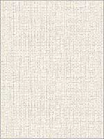 Woven Summer White Grid Wallpaper PS41302 by Kenneth James Wallpaper for sale at Wallpapers To Go