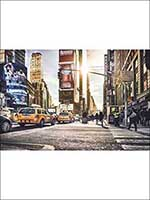 Times Square 4 Panel Wall Mural XXL4008 by Brewster Wallpaper for sale at Wallpapers To Go