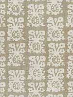 Jakarta Linen Print Greige Fabric 174631 by Schumacher Fabrics for sale at Wallpapers To Go