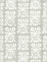 Jakarta Linen Print Slate Fabric 174632 by Schumacher Fabrics for sale at Wallpapers To Go