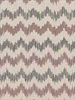 Sierra Ikat Raisin Fabric 175312 by Schumacher Fabrics for sale at Wallpapers To Go