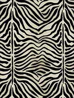 Zebre Epingle Java Ivory Fabric 43492 by Schumacher Fabrics for sale at Wallpapers To Go