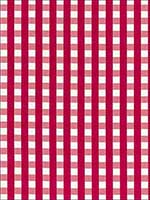 Bermuda Check Azalea Fabric 68062 by Schumacher Fabrics for sale at Wallpapers To Go