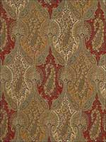 Sarawak Paisley Tapestry Fabric 174380 by Schumacher Fabrics for sale at Wallpapers To Go