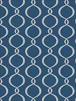 Galatea Cobalt Fabric 4625903 by Vervain Fabrics for sale at Wallpapers To Go