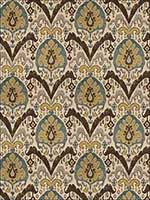 Tashkent Malachite Fabric 4535202 by Stroheim Fabrics for sale at Wallpapers To Go