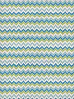 Kira Kuba Turquoise Lime Fabric 4694804 by Stroheim Fabrics for sale at Wallpapers To Go