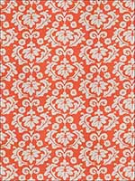 Nouveau Palazzo Persimmon Fabric 4702305 by Stroheim Fabrics for sale at Wallpapers To Go