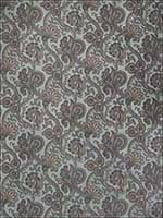 Apres Paisley Summer Sky Fabric 672201 by Stroheim Fabrics for sale at Wallpapers To Go