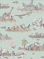 Zambezi Multi Coloured Wallpaper 10914063 by Cole and Son Wallpaper for sale at Wallpapers To Go