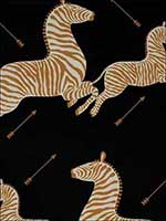 Zebras Black Wallpaper WP81388M005 by Scalamandre Wallpaper for sale at Wallpapers To Go