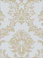 Damask Wallpaper IM36405 by Norwall Wallpaper for sale at Wallpapers To Go