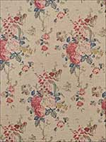 Jardin Floral Summer Linen Fabric LCF66919F by Ralph Lauren Fabrics for sale at Wallpapers To Go