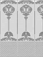 Baroque Paintable Dado Panel RD06671 by Brewster Wallpaper for sale at Wallpapers To Go