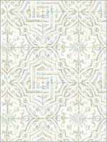 Sonoma Taupe Spanish Tile Wallpaper 311712334 by Chesapeake Wallpaper for sale at Wallpapers To Go