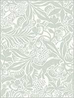 Lund Seafoam Botanical Wallpaper 27821478 by A Street Prints Wallpaper for sale at Wallpapers To Go